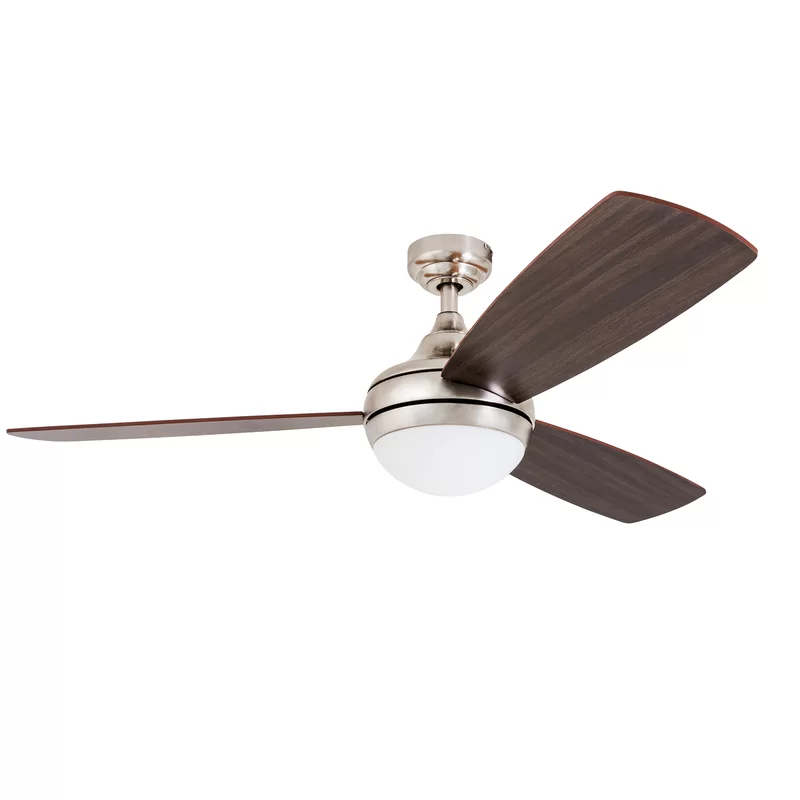 Fantasia Propeller 44 Inch Remote Control White 2 Blade Ceiling Fan With White Blades And Light 2 Blade Ceiling Fan Ceiling Fan Fan