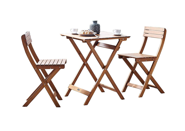 conjunto mesa y sillas acacia