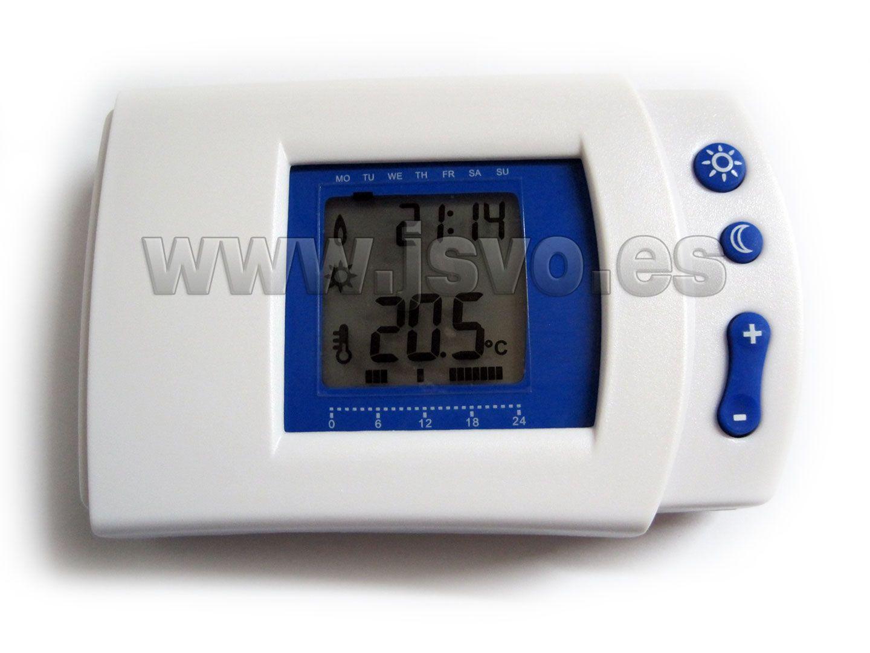 Termostato digital programable Electro DH 11.805 apto para