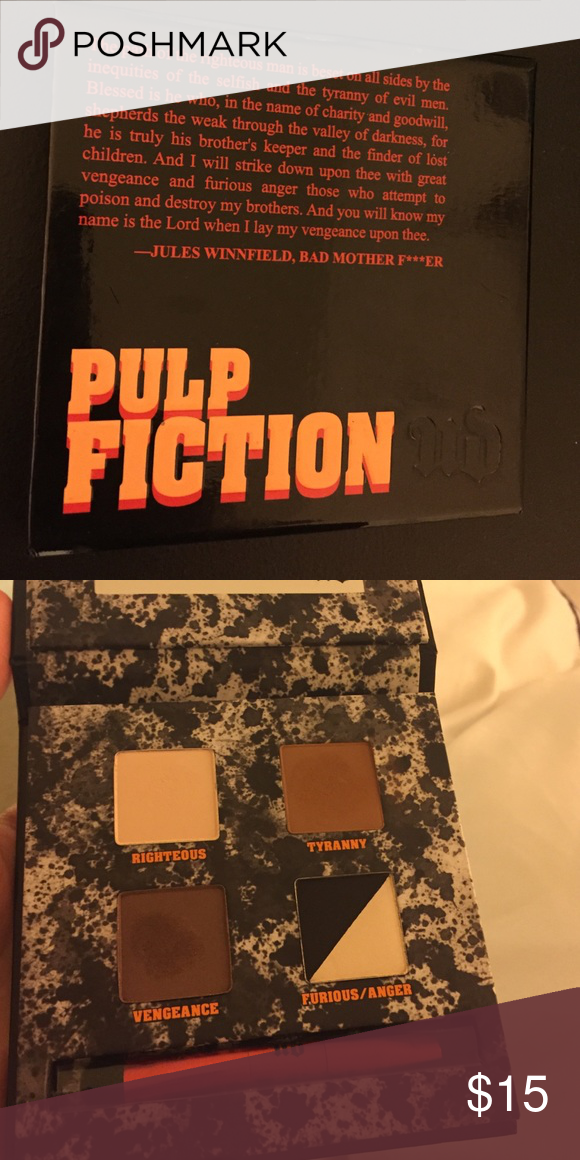 Urban decay pulp fiction Only swatched one time. In prestige condition Urban Decay Makeup Eyeshadow