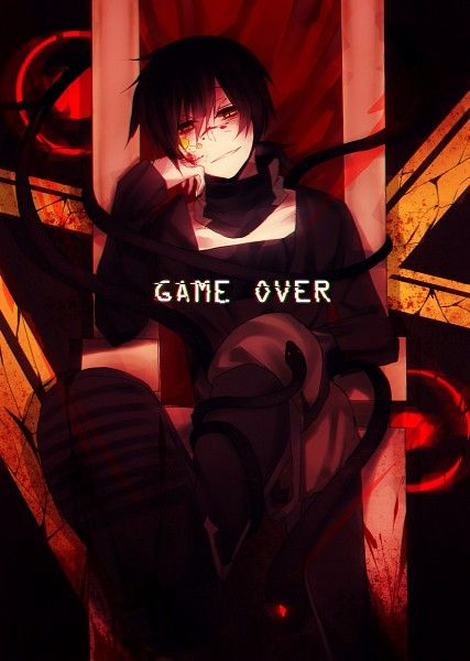 Pin On Kuroha Black gamer anime wallpaper boy