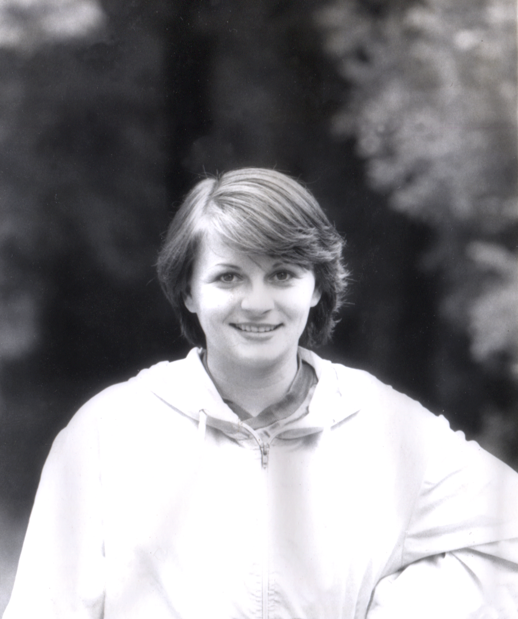 Teodora Ungureanu in Bucharest  August, 1980    Team Romania