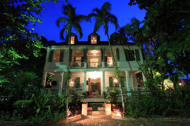 The Audubon House And Tropical Gardens In Key West Florida