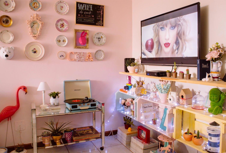 Decora O Com Pouco Dinheiro Minha Sala Antes E Depois Room Decor  -> Sala Pequena Apartamento