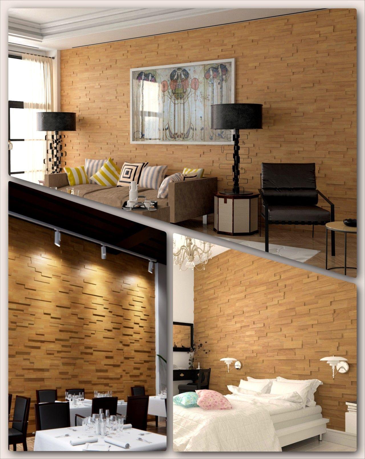 Living Room Walls Wood Panels: 3D Wood Wall Panels For Interior