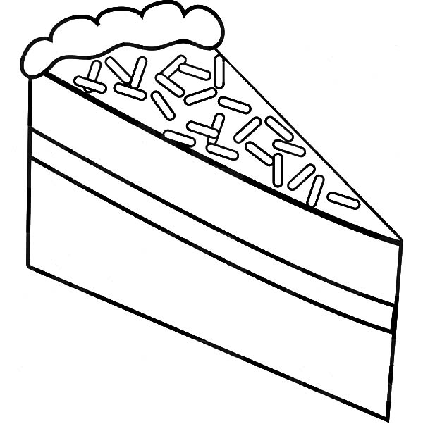 Cake Slice With Chocolate Topping Coloring Pages Best Place To Color In 2020 Coloring Pages Chocolate Topping Cake Slice
