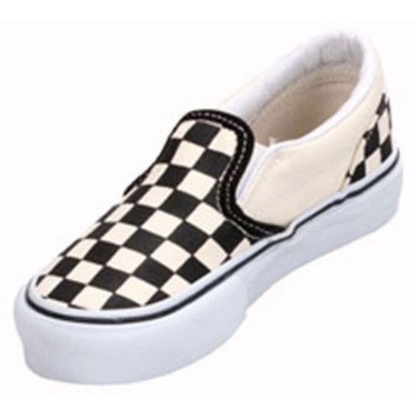 Najlepiej najlepsza obsługa klasyczne style Vans VN-0EYB BWW Youth Classic Slip-On Black/White Checker ...