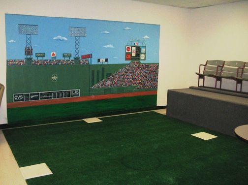 Fenway Park Wall Mural Baseball Stadium Carters Room Pinterest Part 11