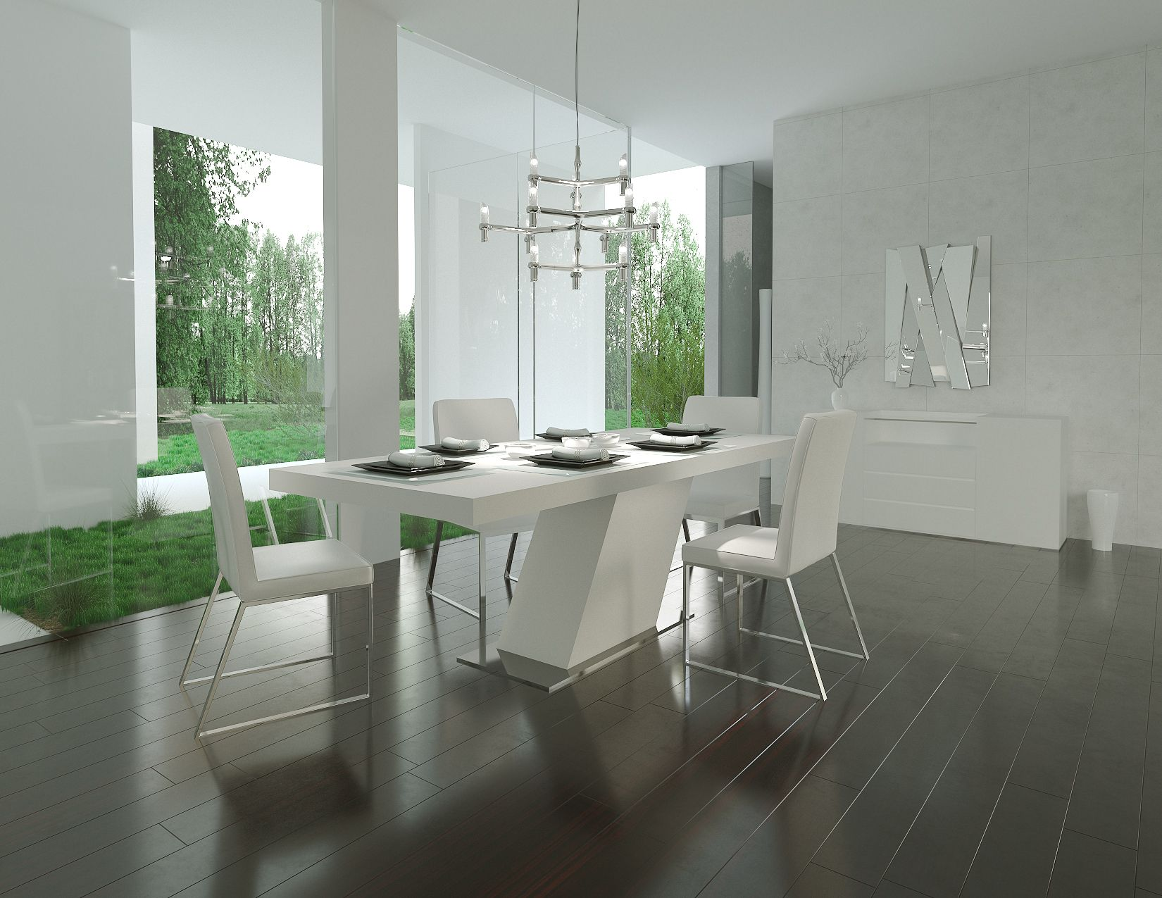 Best The Modern Collection Dining Room By Modani Furniture Con 400 x 300