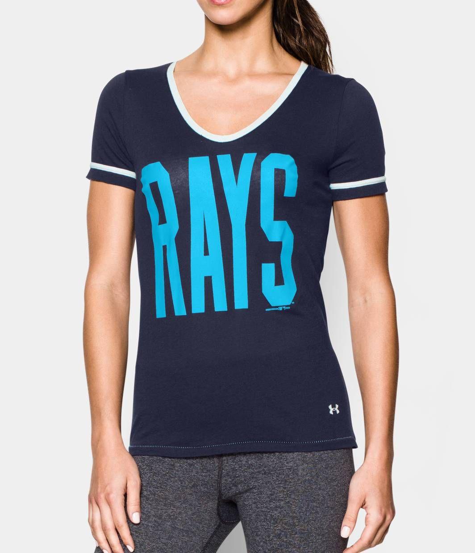 Women's Tampa Bay Rays UA Shirzee TShirt Under Armour US