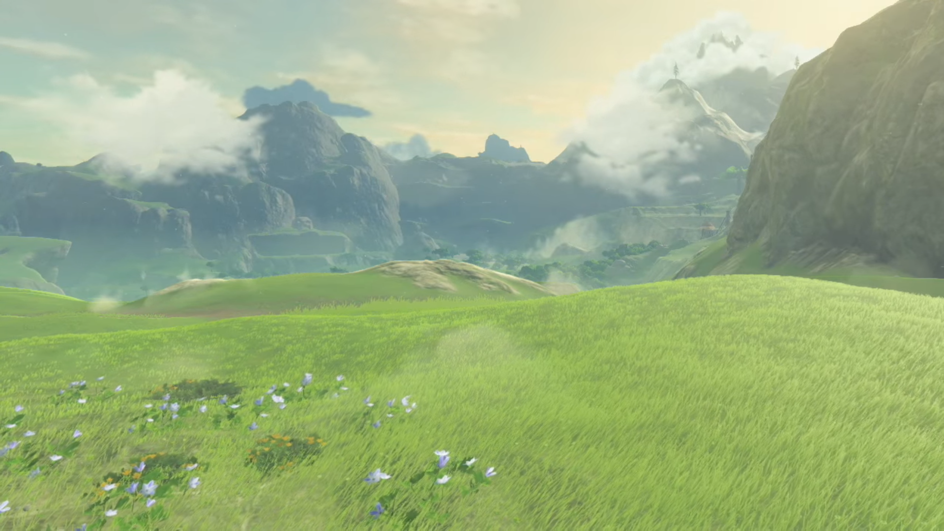 Breath Of The Wild Background Hd Breath Of The Wild Anime