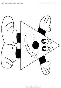 üçgen Kavramı çalışma Sayfası Boyama Sayfalari Worksheets