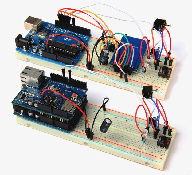 Arduino project digital audio player electronics