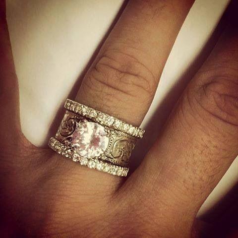 Fanning Jewelry R26 850 Western Wedding Rings Tourmaline Engagement Ring Rose Engagement Ring