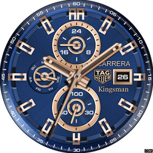 Free Download Custom Watch Face Tag Heuer Carrera Kingsman Free Watch Faces Apple Watch Custom Faces Custom Watch Faces Apple Watch Faces Download