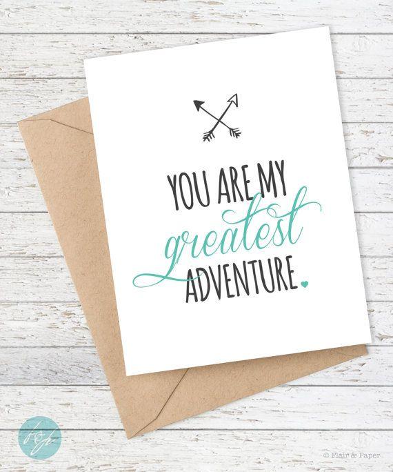I Love You Card - Boyfriend Card - Anniversary Card - Husband - Wife… …