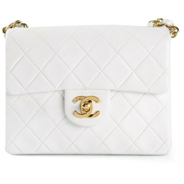 CHANEL VINTAGE mini half flap bag (12.520 BRL) ❤ liked on Polyvore  featuring bags f288814968