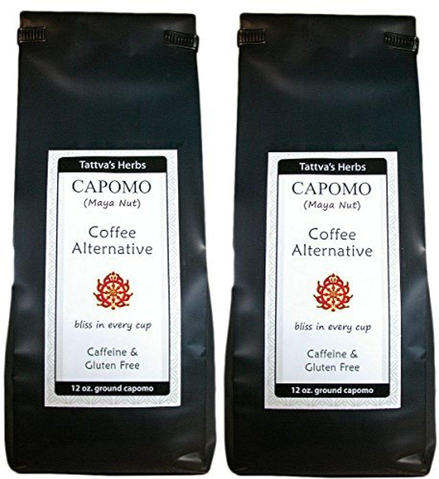 Capomo (Maya Nut) 12oz [2 Pack] Coffee Substitute