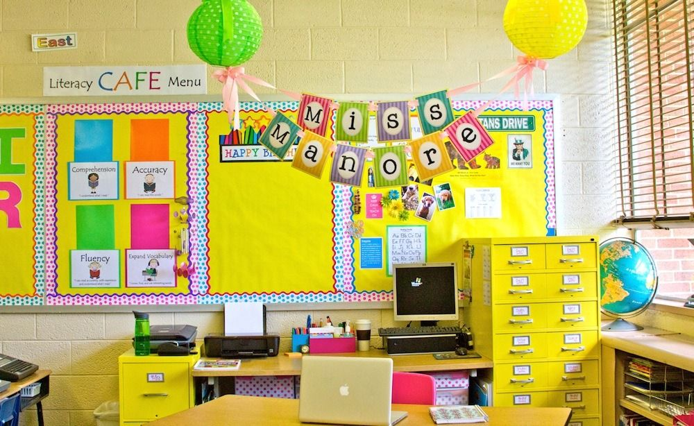 Yellow Classroom Decor : Schoolgirl style challenge finalist #5 maria manore www