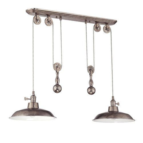 Ariel 2 Light Kitchen Island Pendant Birchlane Barn Light Pendant Barn Lighting Kitchen Lighting