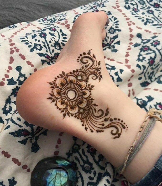 Anam Khan Henna Designs Feet Foot Henna Henna Tattoo Designs