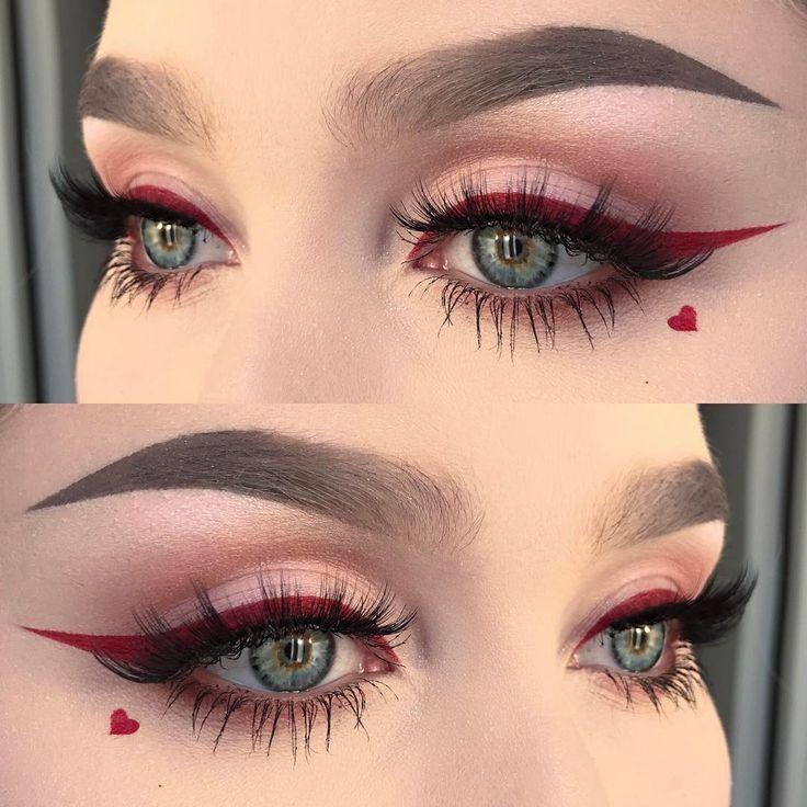 15 maquillajes que deberías probar para el Día de San Valentín – #die #makeups # try … – Maquillaje | Dessertpin.com