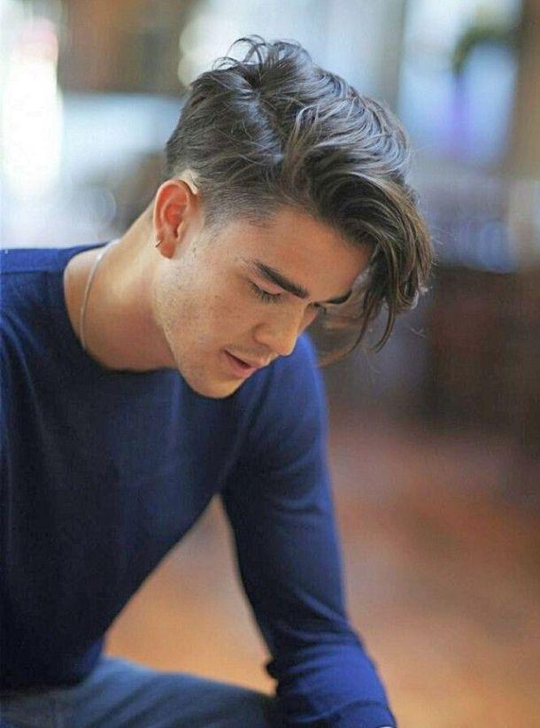 Mannerfrisuren Mittellange Haare Herrenfrisuren Herrenhaarschnitt Coole Frisuren