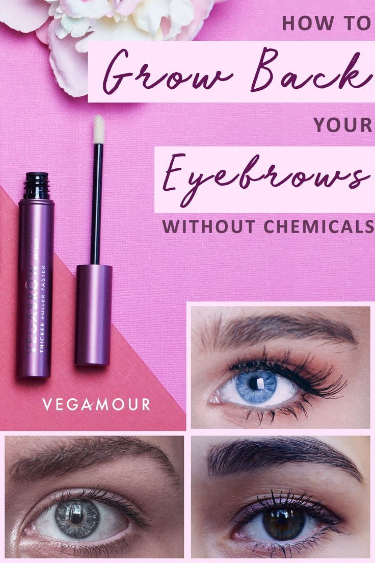 Yes, Your Eyebrows Can Still Grow Back--Here's How! # ...