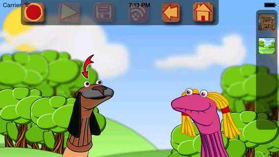 Sock Puppets On The App Store On Itunes Apps Digitale Medier Praesentation