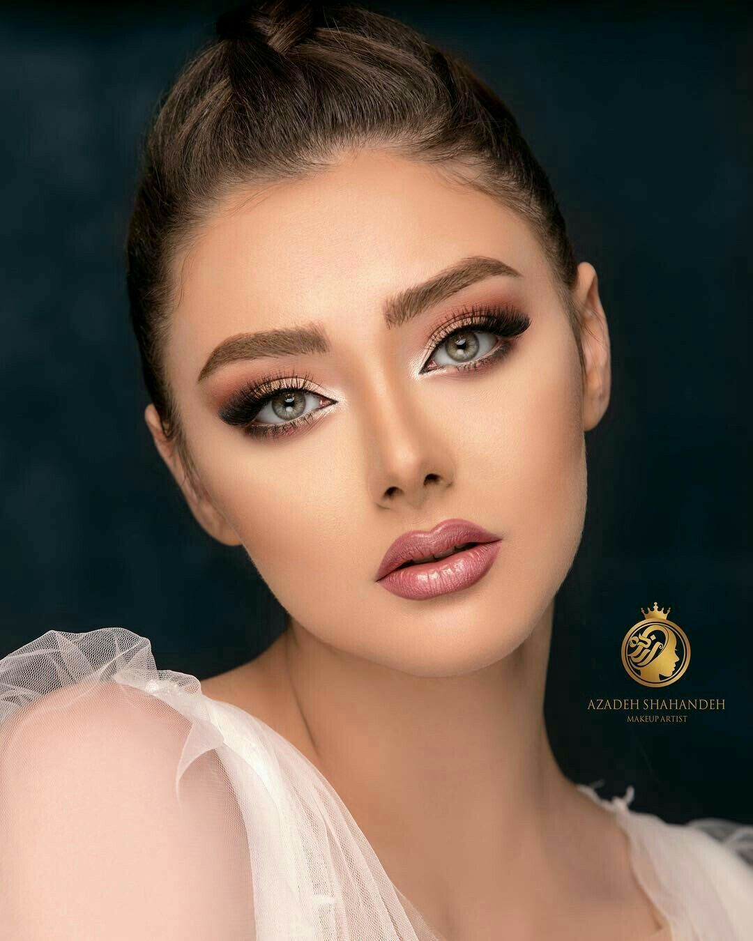 Pin by زينب علي on beautiful Round face makeup