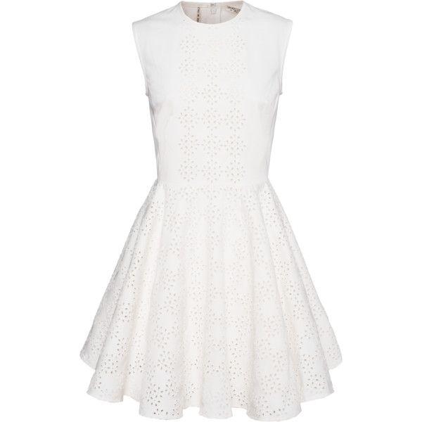 GIAMBATTISTA VALLI FOR SEVEN FOR ALL MANKIND Swing Lace White ...