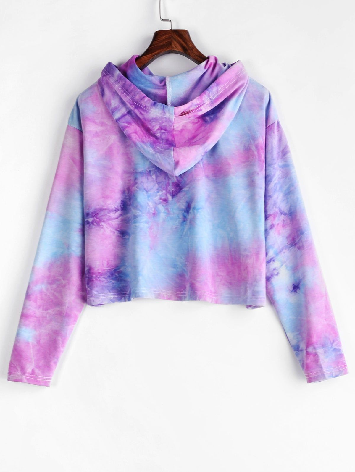 Zaful Drawstring Tie Dye Cropped Hoodie Multi Aff Tie Drawstring Zaful Dye Multi Ad Tie Dye Crop Top Cropped Hoodie Tie Dye [ 1596 x 1200 Pixel ]