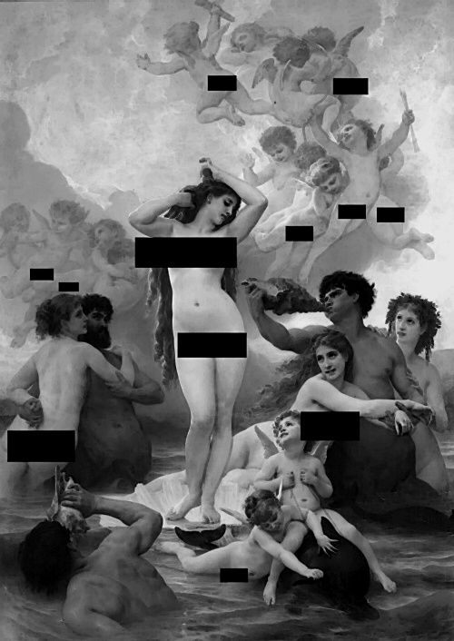 Thats what censorship did to art!