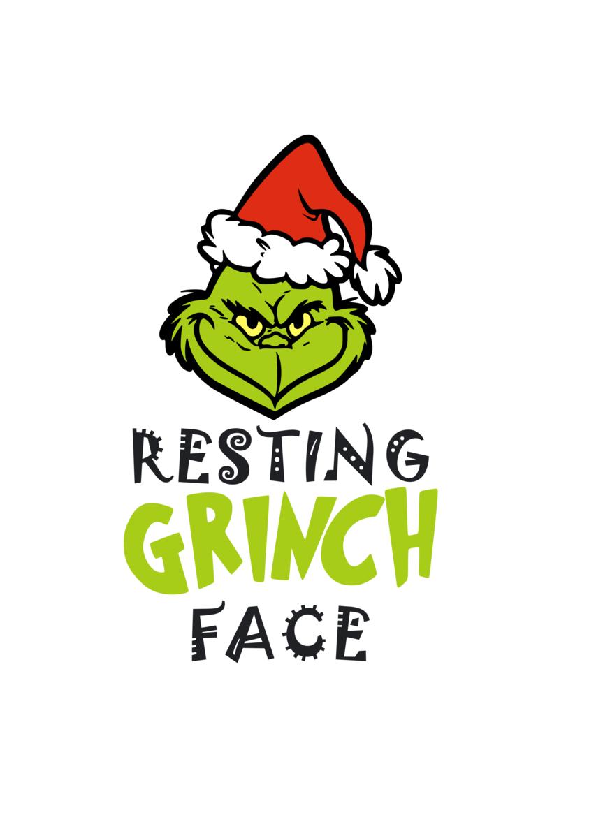 Https Cdn Shopify Com S Files 1 0012 7611 7054 Products Xmas Restinggrinchfacew Hat 1200x1200 Png V 1542207287 Grinch Face Svg Grinch Svg