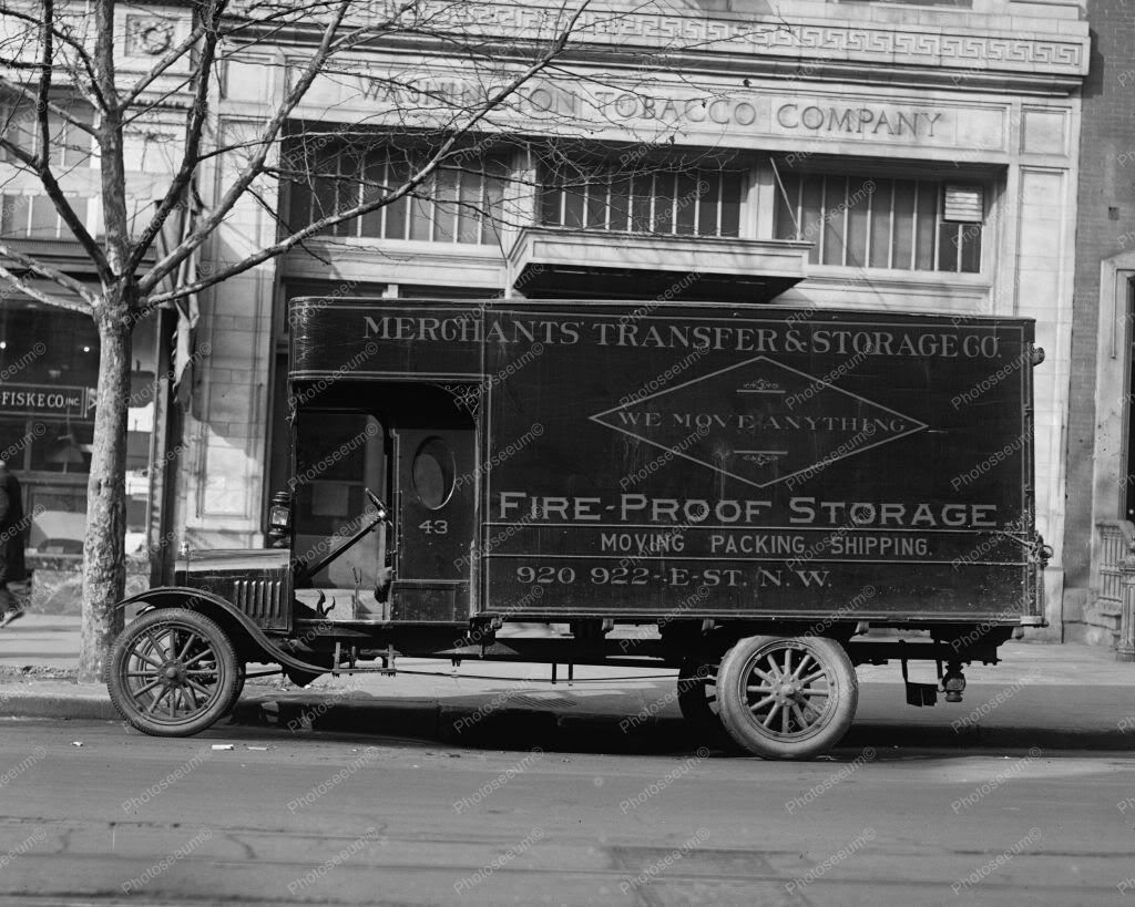 Ford Merchants Transfer Truck Vintage 8x10 Reprint Of Old Photo ...