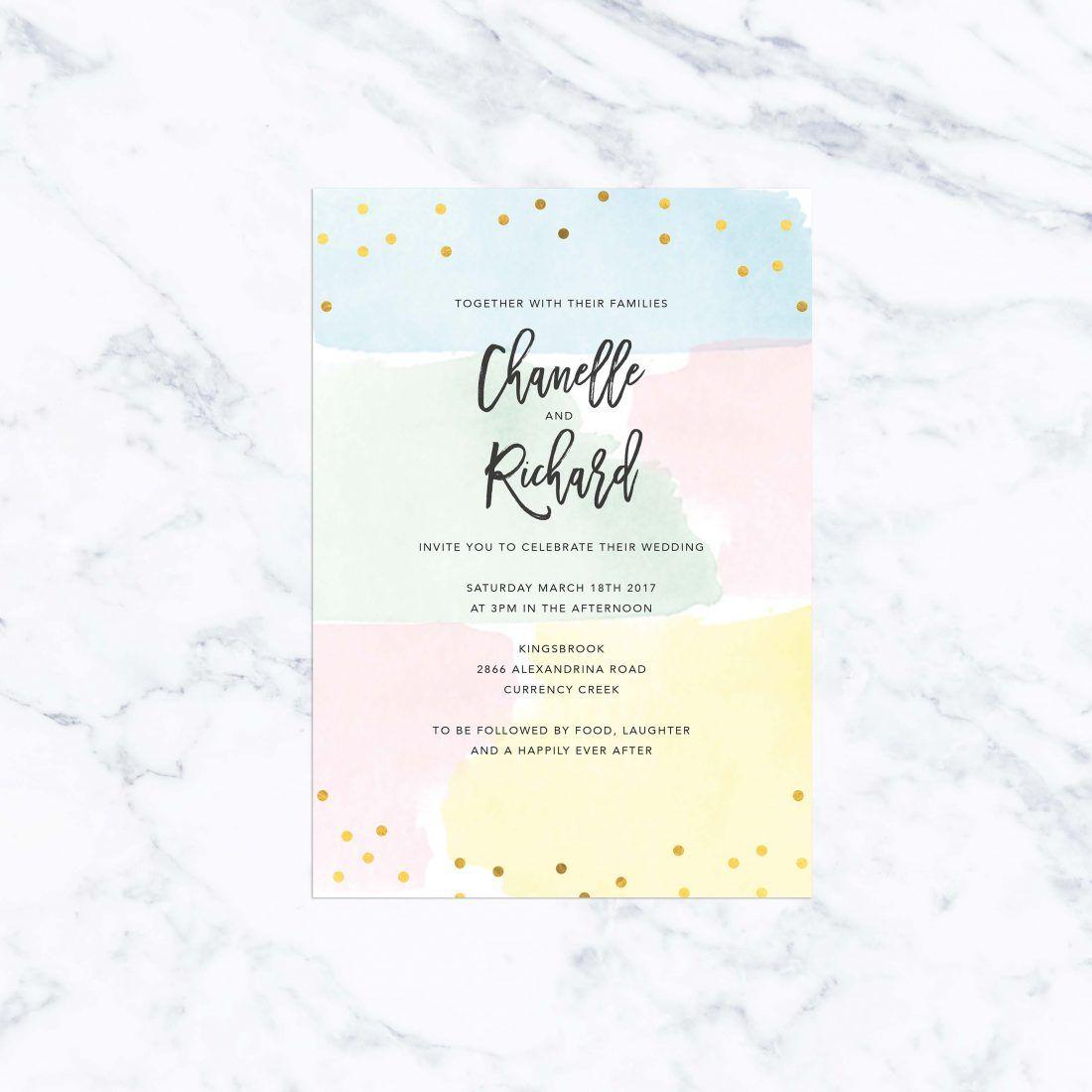 Foil Wedding Invitations | Wedding invitations australia and Weddings