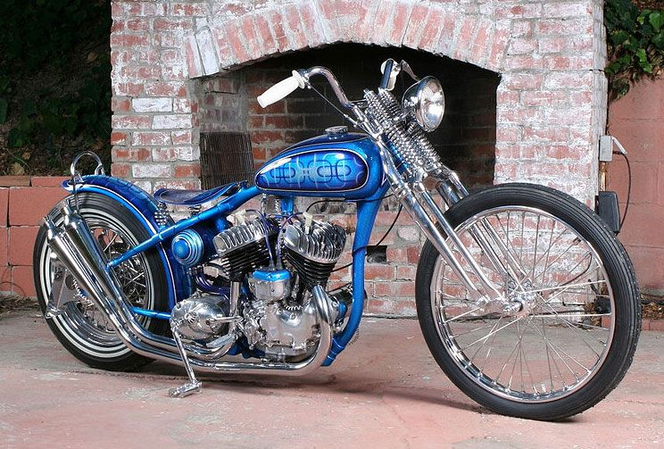 Four Aces Cycle Supply Custom Built Triumph, BSA, Norton & Harley Davidson Motorcycles