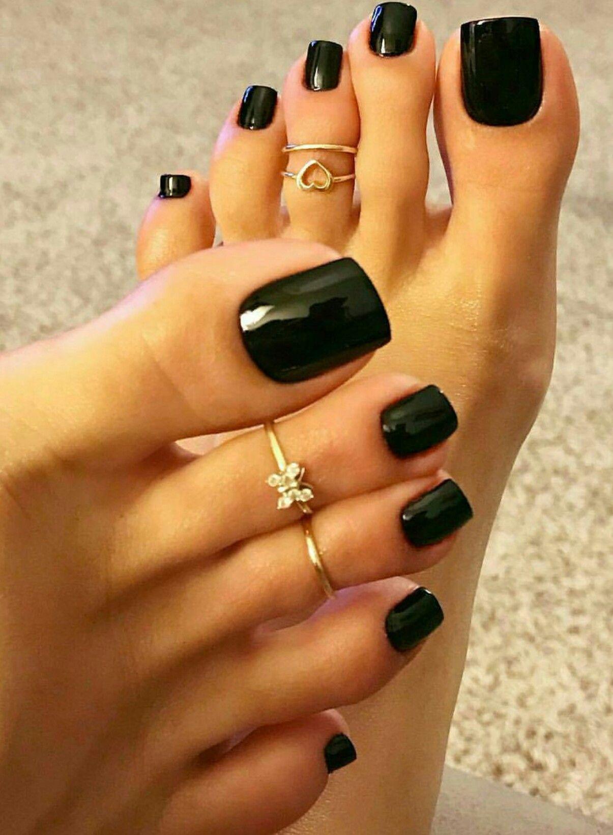 Gorgeous Long Toenails Toe Nails Pretty Toe Nails