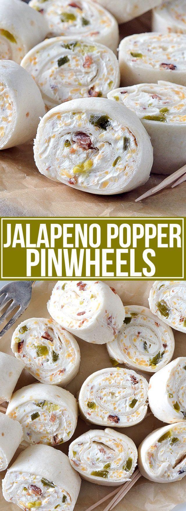 Jalapeño Popper Windräder #fingerfoodappetizers