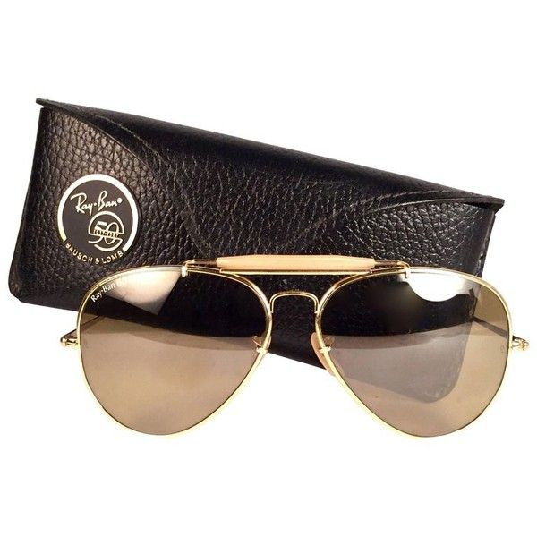 76565b59e40 Preowned Vintage Ray Ban The General 50 Collectors Item George Michael...  ( 1