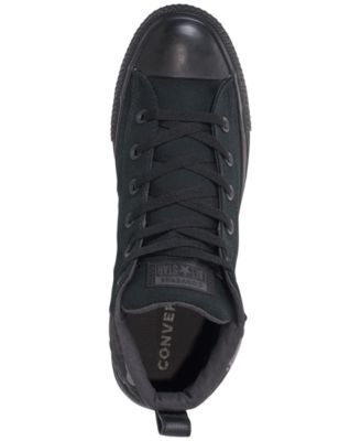 0e95b766eca5 Converse Men s Chuck Taylor All Star Street Mid Combat Zone Casual Sneakers  from Finish Line - Black 7.5