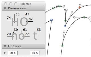 Glyphs App Curves Workout Fonts Glyphs
