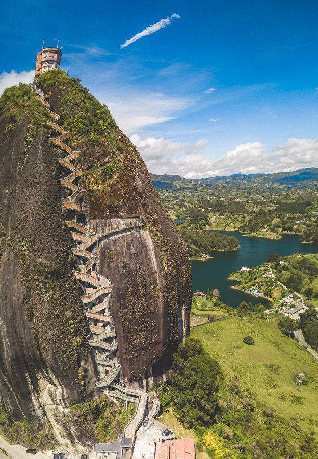 LA PIEDRA DEL PENOL – THE BIG GUATAPE ROCK, COLOMBIA