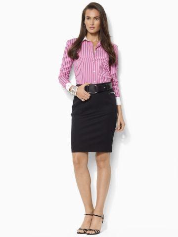 Polo Ralph Lauren | Stretch Twill Skirt