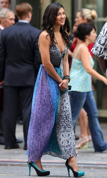 Gossip girl maxi dress