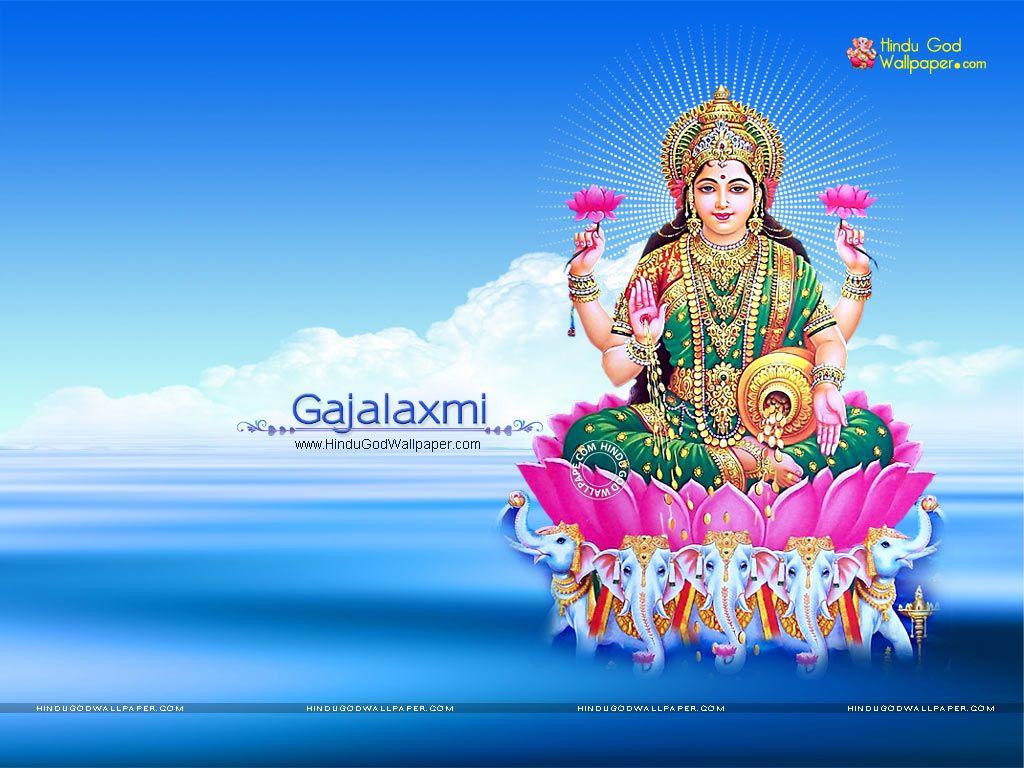 Goddess Gajalakshmi Wallpapers Images Photos Download Maa Laxmi