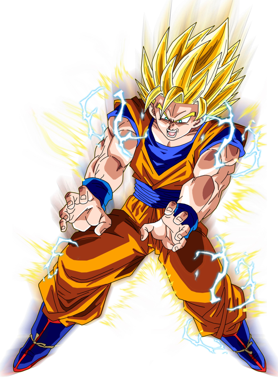 Super Saiyan 2 Goku Aura By Brusselthesaiyan On Deviantart Dragon Ball Super Manga Dragon Ball Dragon Ball Wallpapers