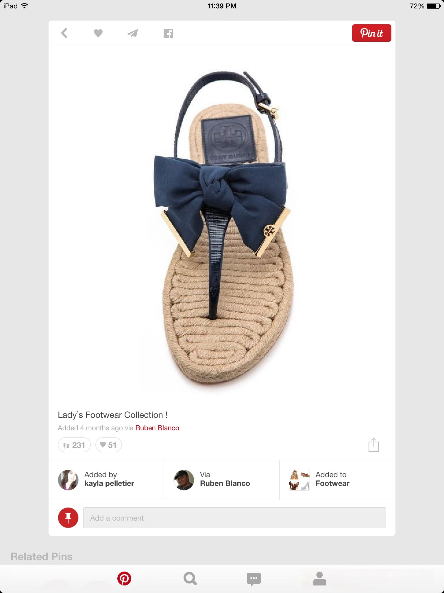 Pom the beach type of shoe just for me