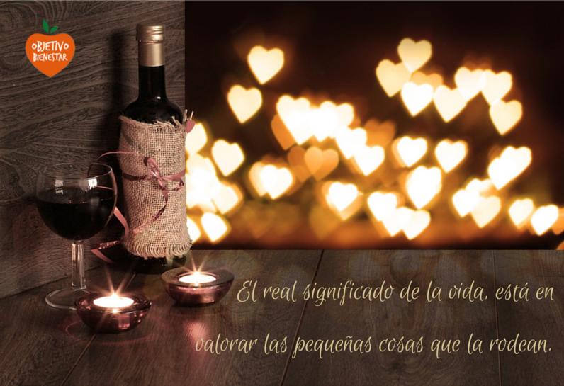 Tomar una copa de vino para cenar, leer, llamar a un amigo… Recupera en tu día  esas pequeñas cosas que no cuestan nada y otorgan un gran bienestar.  #objetivobienestar