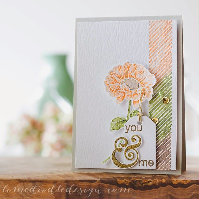Stamping & Sharing: Clearly Besotted Challenge #11 - Colour Challenge